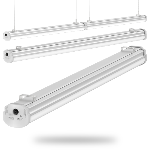 STL Parking Garage Linear LED Luminaire by PLIANT LED